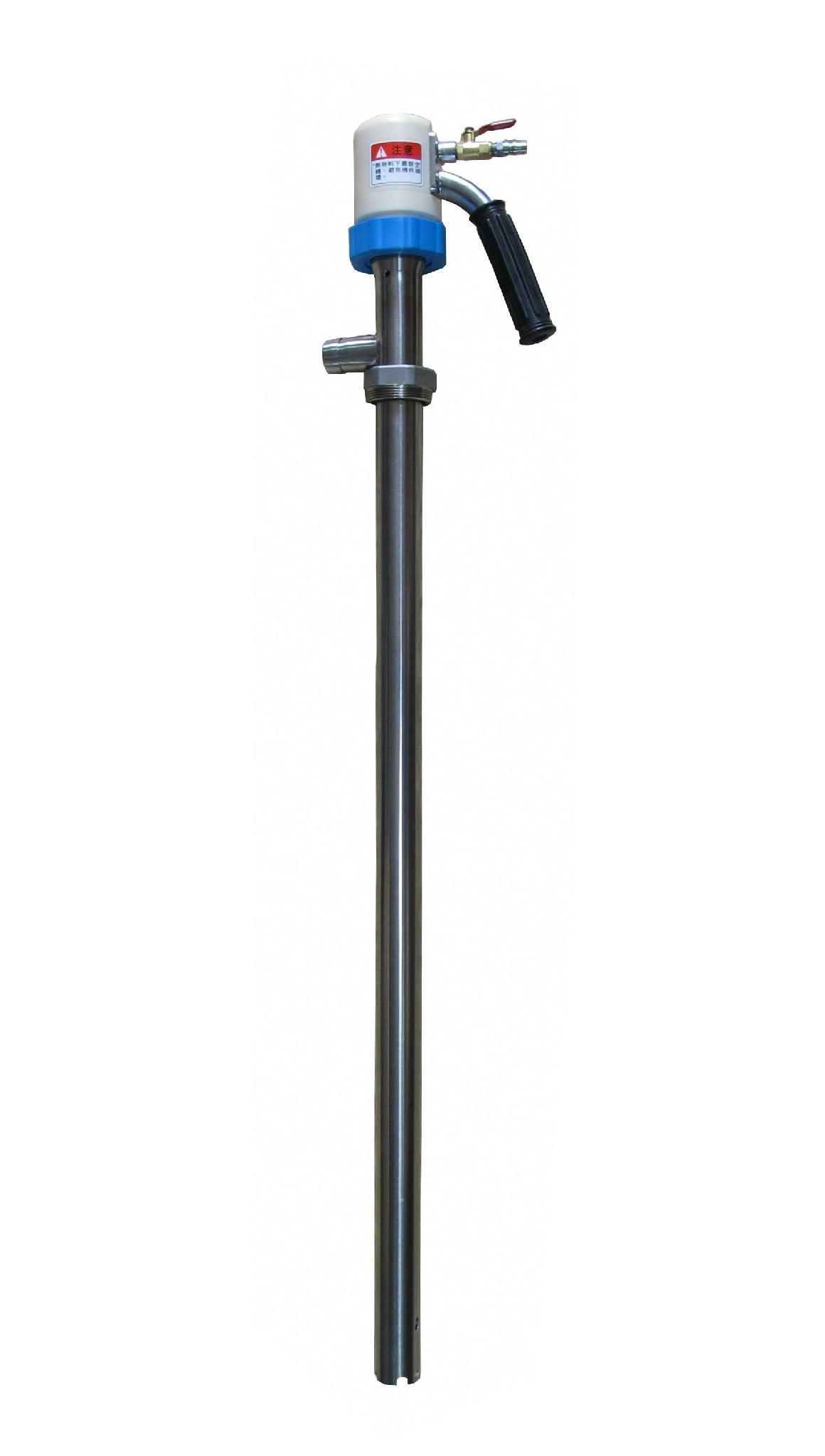 Air-operated portable spiral pump