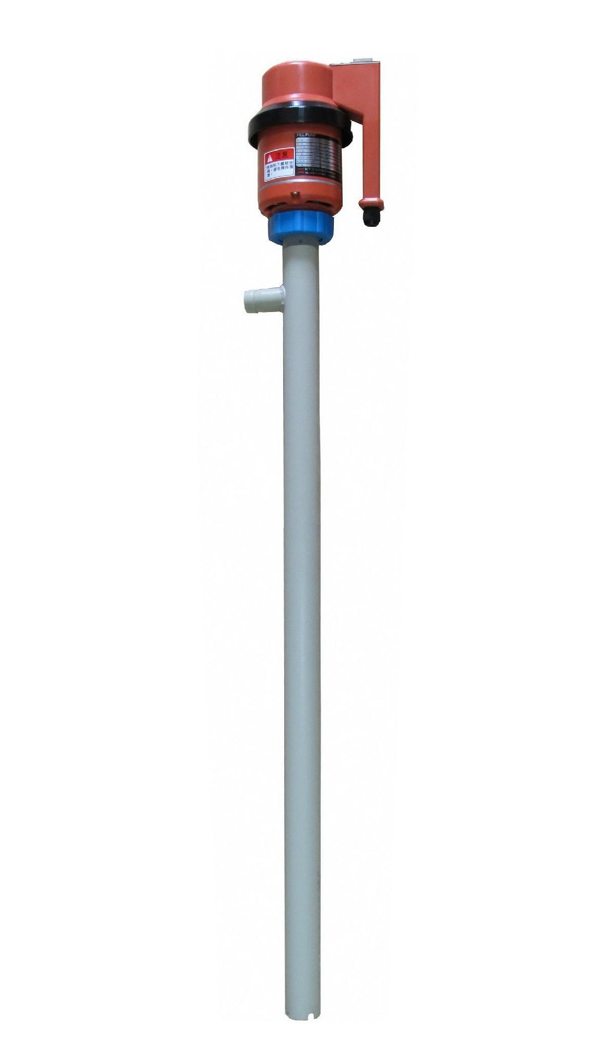 電動耐酸鹼手提泵浦 1