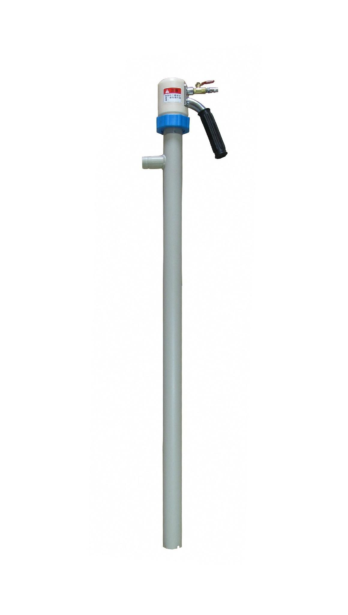 Air-operated portable acid pump  1