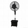 Pedestal Centrifugal Mist Fan  26 inch
