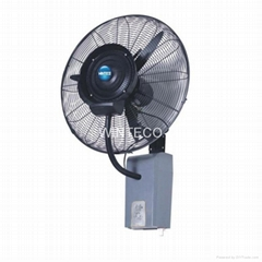 Water Mist Fan 26 Inch Wall Mounted Outdoor Cooling
