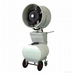 Mobile Mist Fan 20 Inch Remote Control Dust Control Equipment
