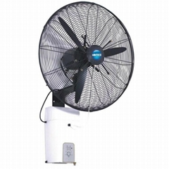 High Pressue Mist Fan-wall mounted