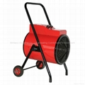 Round Industrial Fan Heater 2-30kw