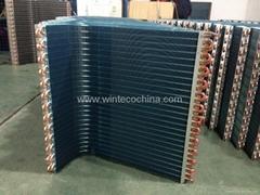 Hydrophilic aluminum foil condensor coil