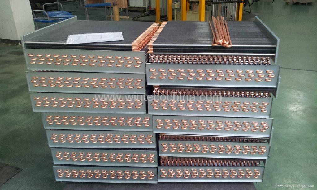 Bare Aluminum Foil Condensor Coil Heat Exchanger China