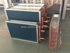 Hydrophilic heat exchanger coils