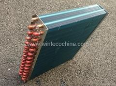 Heat exchanger condenser coils