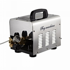 20 nozzles high pressure misting system fog machine for outdoor space with timer