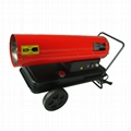 Direct fired diesel space air heater