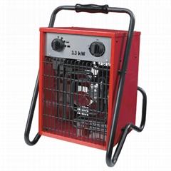 3.3KW portable industrial electrical fan heater