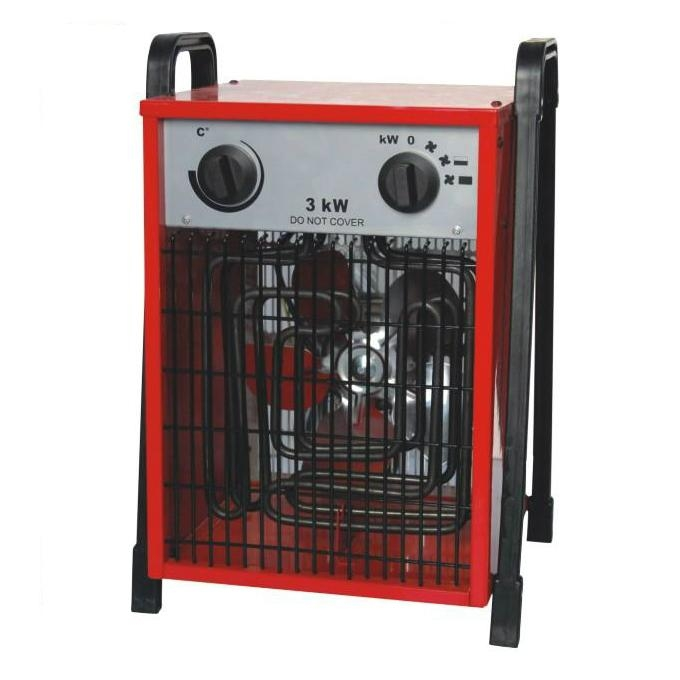 Floor-standing portable industrial fan heater 1