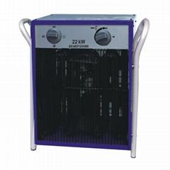 Free standing portable industrial fan heater