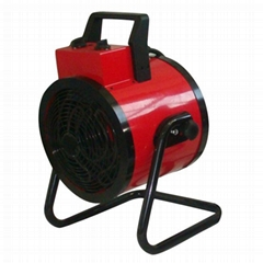 Portable round industrial fan heater