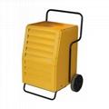 Mobile industrial dehumidifier