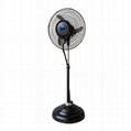 18 inch centrifugal misting fan