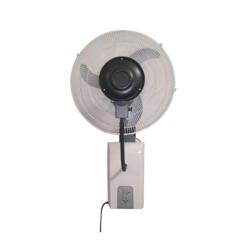 Wall Mount Mist Fans : Inch wall mounted centrifugal misting cooling fan with