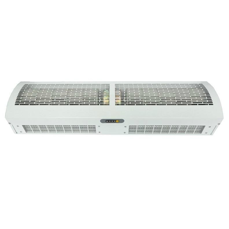 Cross-flow electrical industrial heating air curtain WCMH ...
