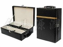 豪華鑽石雙支酒盒