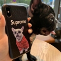 Supreme x Louis Vuitton Phone case LV dog head phone case fashion phone case