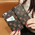 Louis Vuitton Phone case with wallet for iPhone X fashion wallet phone case