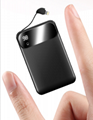 Mini Charger for iPhone/Android mobile 20000mAh