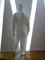 White disinfection properties isolation gown hooded Workshop safety clothes