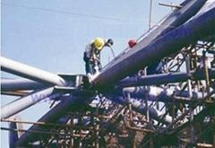 Steel structure of spraying zinc aluminum engineering