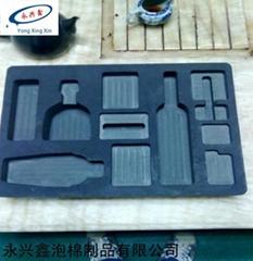 CNC一次成型EVA开槽包装盒子
