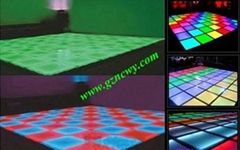 Super Bright Led Dance Floor for professional stage dj club & disco light