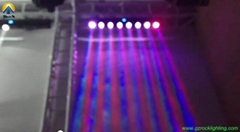 Beam led moving wall was