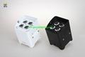 4*18w  wireless dmx /battery powered /ir