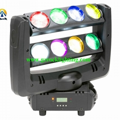 ADJ light Crazy 8 Spider BEAM moving head light 8*10W RGBW 4in1 CREE LED (Hot Product - 1*)