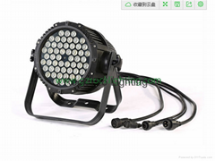 high power 54*3W led par can waterproof used in outdoor stage light dj lighting