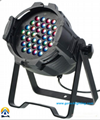 tri color led zoom par light 36*3W RGB 3IN1 for event,party & dj