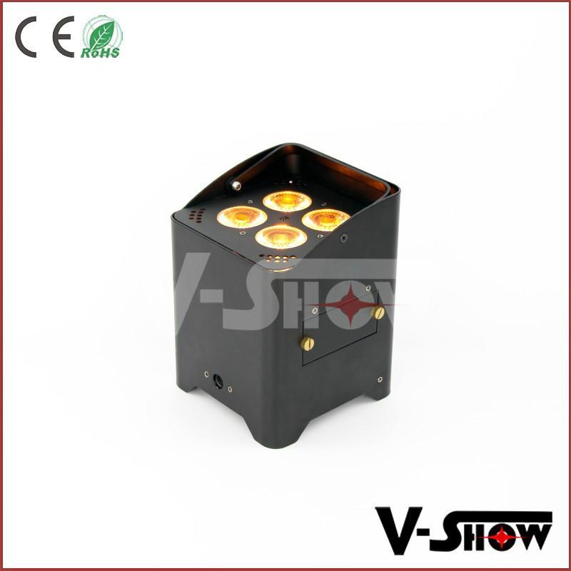 battery powered slim led par
