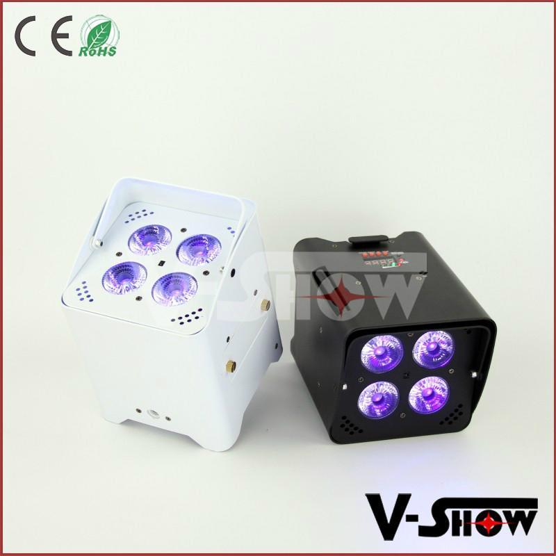 battery wireless dmx led uplight