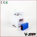 new arrivaldj ighting  4*18w rgbwa uv wireless dmx +battery +ir remote led par 6