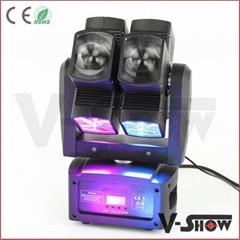 Promotion head led lights for dj ,cheap 8x10w rgbw hot wheel moving head disco