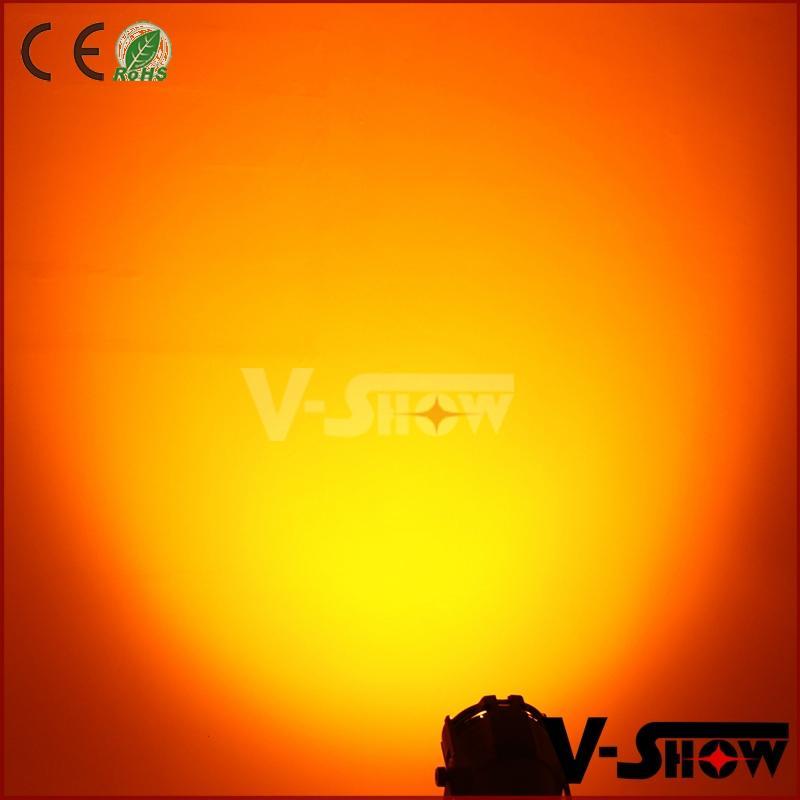 18pcs 18w rgbaw uv aluminum mini led par dj zoom stage light with 8 - 60 degree  5
