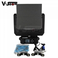 2018 hottest LED Moving head video panel 4096 RGB 5050SMD led moving head screen