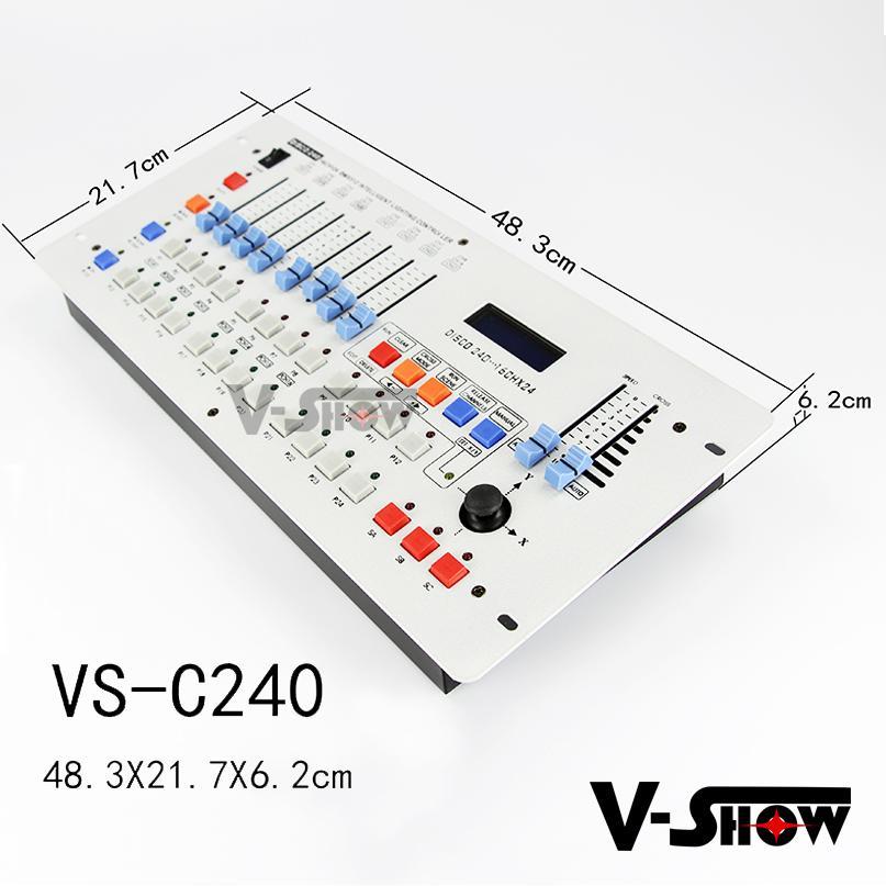 DMX512 Controller international standard digital 240 DMX Channels 5