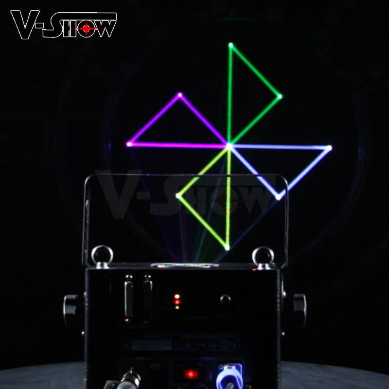 2W stage laser light 2W RGB Animation Laser for club and stage 9