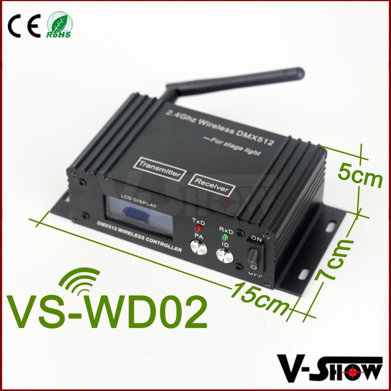 LCD wireless dmx 512 transmitter and receiver ,wifi connector