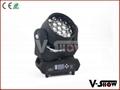 pro light moving heads19x12w rgbw zoom