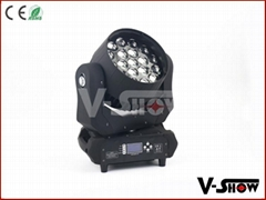 pro light moving heads19x12w rgbw zoom led moving head light