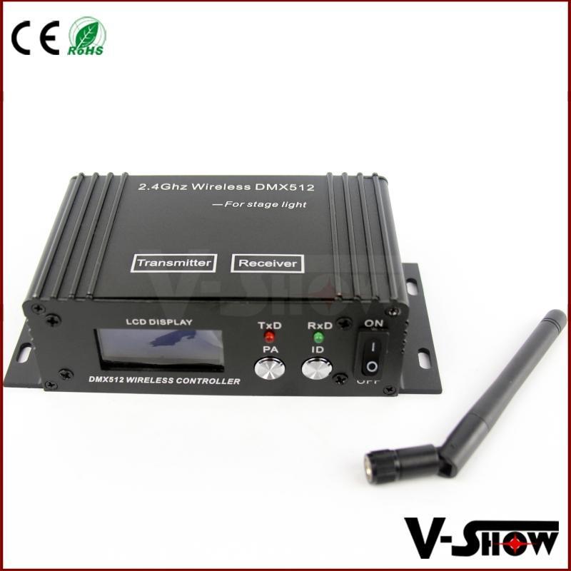 LCD wireless DMX512 Receiver&Transmitter 1