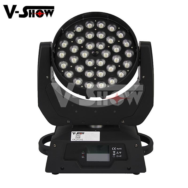 stage light ,led color wash 36*10w rgbw led moving zoom wash light  1