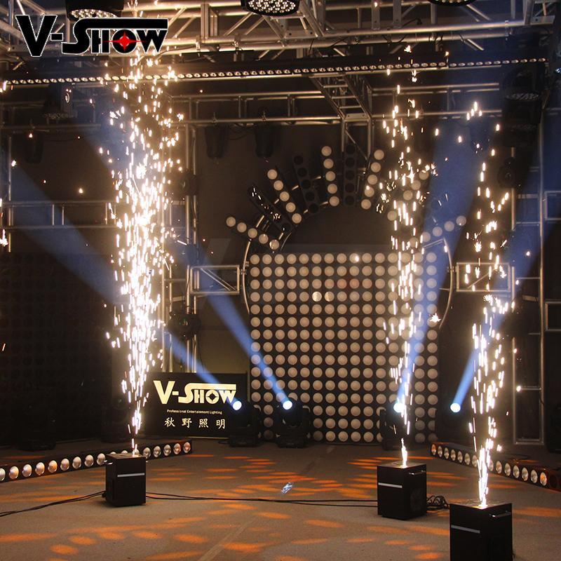 Sparkular wedding firework machine indoor fountain machine no smoke no fire  4