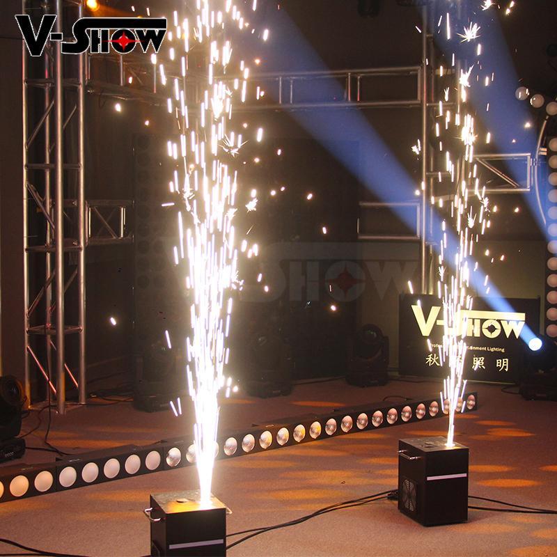 Sparkular wedding firework machine indoor fountain machine no smoke no fire  8